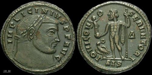 81VF_Licinius_I_Follis_Jupiter_R4_BLK