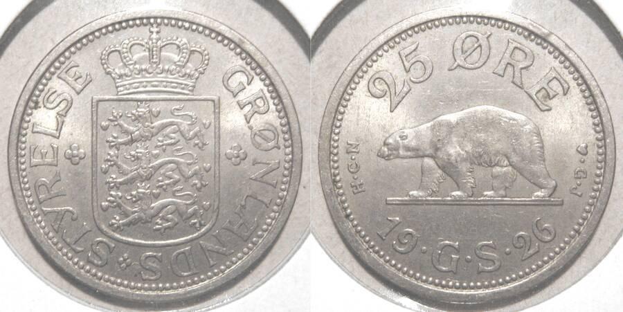 Greenland 1926 25 øre