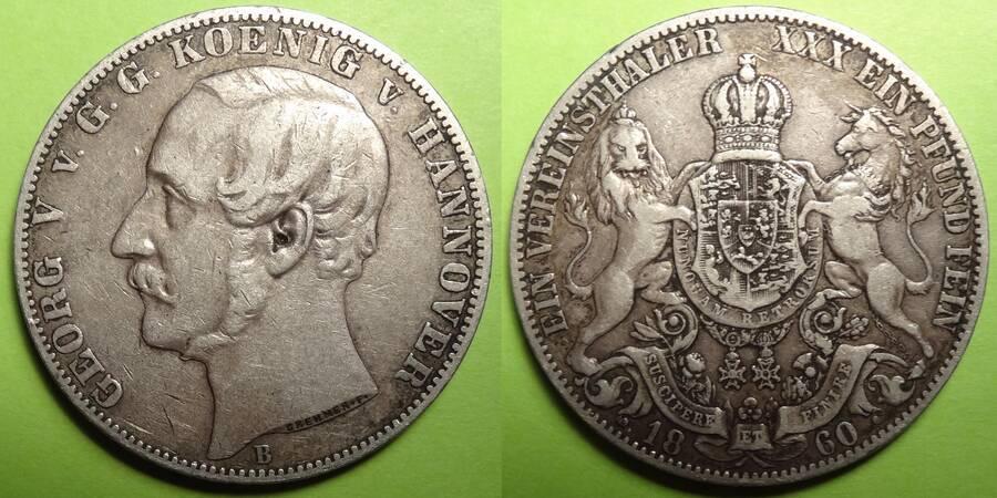 Hannover 1860 1 Vereinshaler