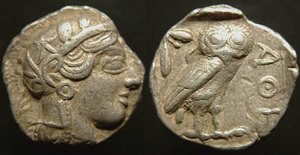 Athens Owl Tetradrachm