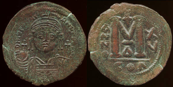 Justinian I Follis - CON