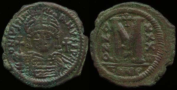Justinian Follis - Theoupolis