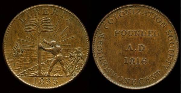 Liberia - AMERICAN COLONIZATION SOCIETY, ACS; CH-1