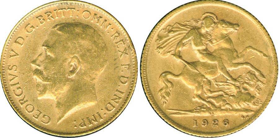 Union of South Africa 1925 £½