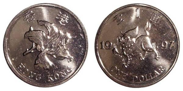 HONG KONG (SPECIAL ADMINISTRATIVE REGION)~1 Dollar 1997