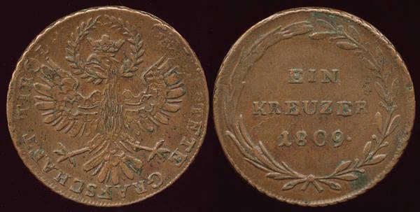 Tyrol - Andreas Hofer 1 Kz - 1809