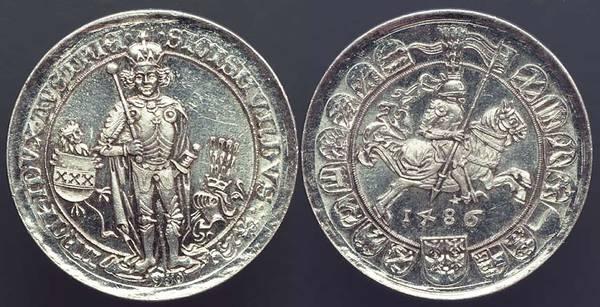 Hall Mint - Tyrol Restrike of 1486 Thaler
