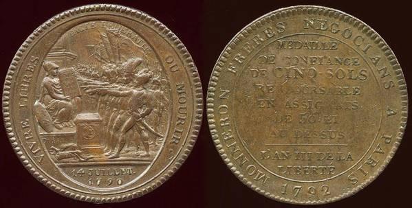 Allegiance L'AN III - 1792