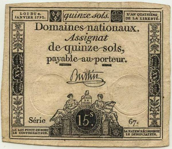 French Revolution Assignat