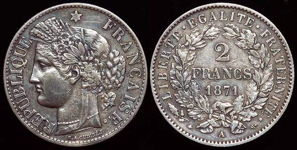 France 2 Fr 1871
