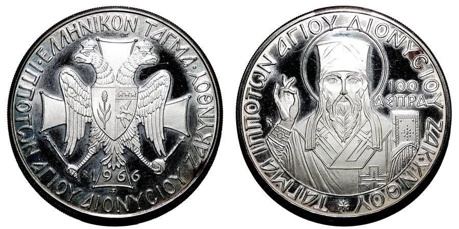 IONIAN ISLANDS~100 Aspra 1966