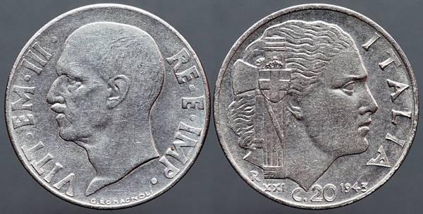 Italy 20c 1943