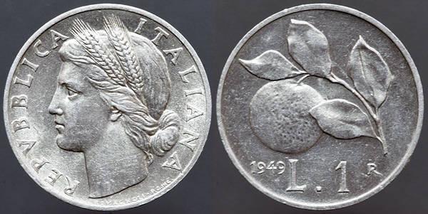 Italy Lire 1949