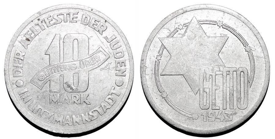 LITZMANNSTADT/LODZ GHETTO~10 Mark 1943