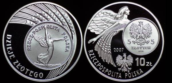 Poland 10 Zlotych Coin Tribute