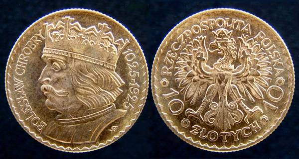 Poland King Boleslaw 10 Z.