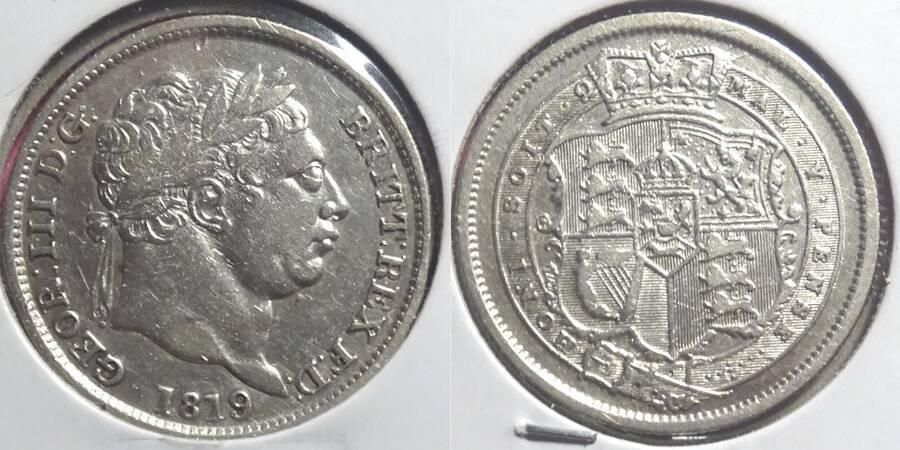 Great Britain 1819/8 1/