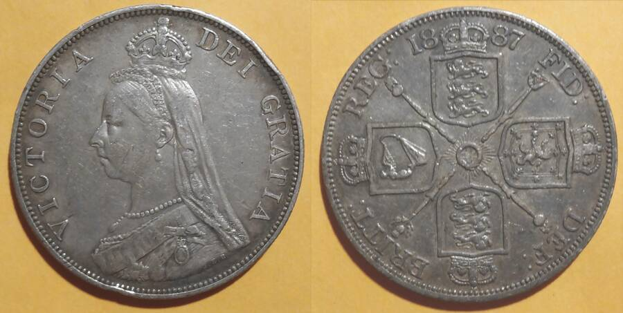 Great Britain 1887 4/-