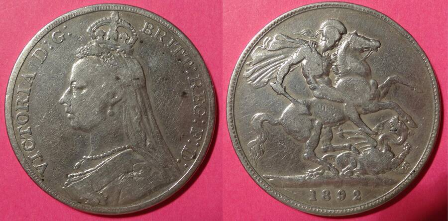 Great Britain 1892 5/-