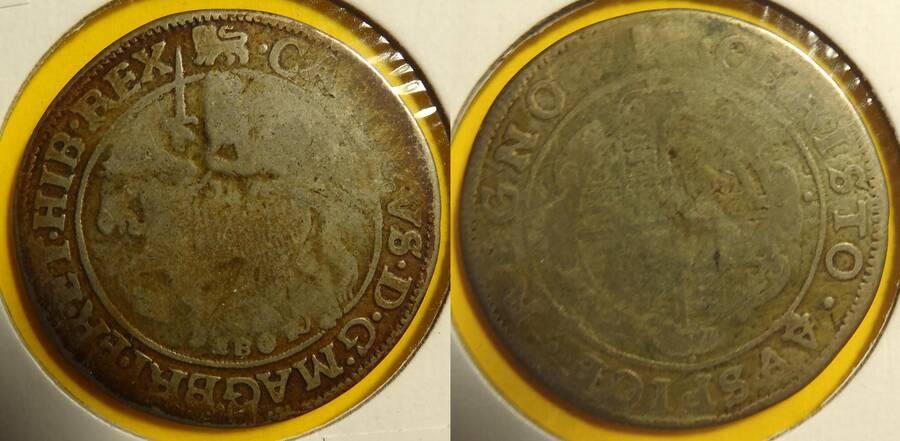 Great Britain c1642 2/6 EBOR