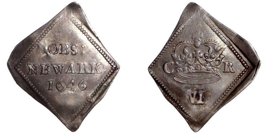 NEWARK (SIEGE)~6 Pence 1646