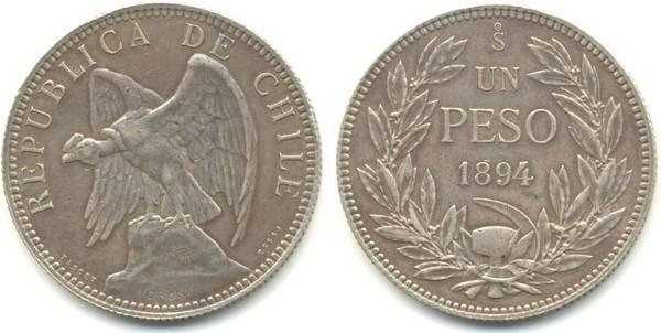 Chile 1894 Pattern