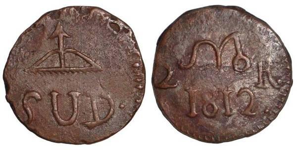 OAXACA (INSURRECTION)~2 Reales 1812
