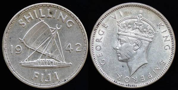 Fiji Shilling 1942