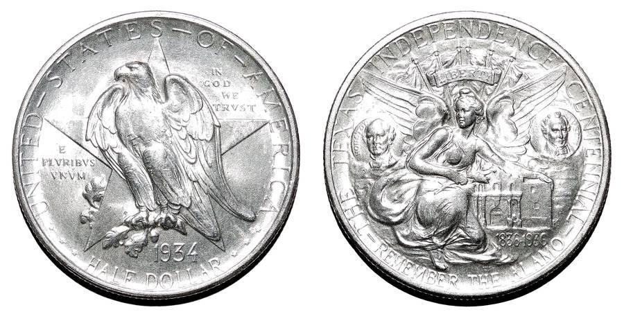 UNITED STATES~Half Dollar 1934