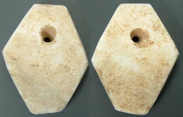 Chinese Stone Cowry - geometric