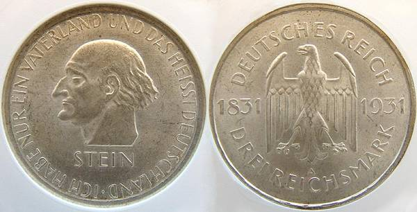 vom Stein - 3 RM