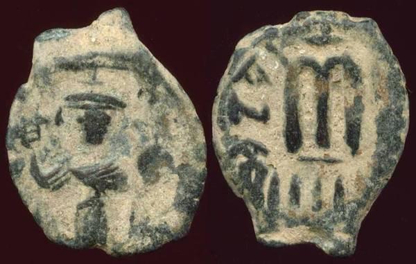 Arab-Byzantine coin