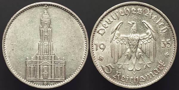 Germany 3rd R. - 5 RM 1935G