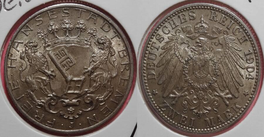 Bremen 1904 2 Mark