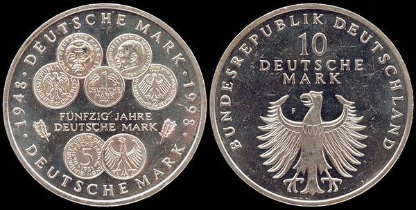 Germany - 50 Yrs Mark