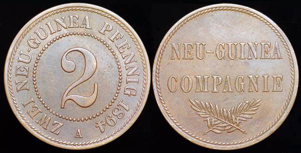 German New Guinea 2 Pf