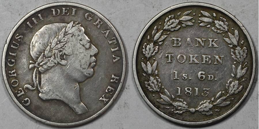 Bank of England Token 1813 1/6d