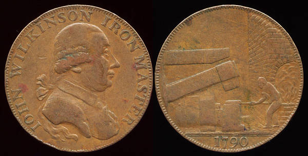 J. Wilkinson Iron Master - 1790
