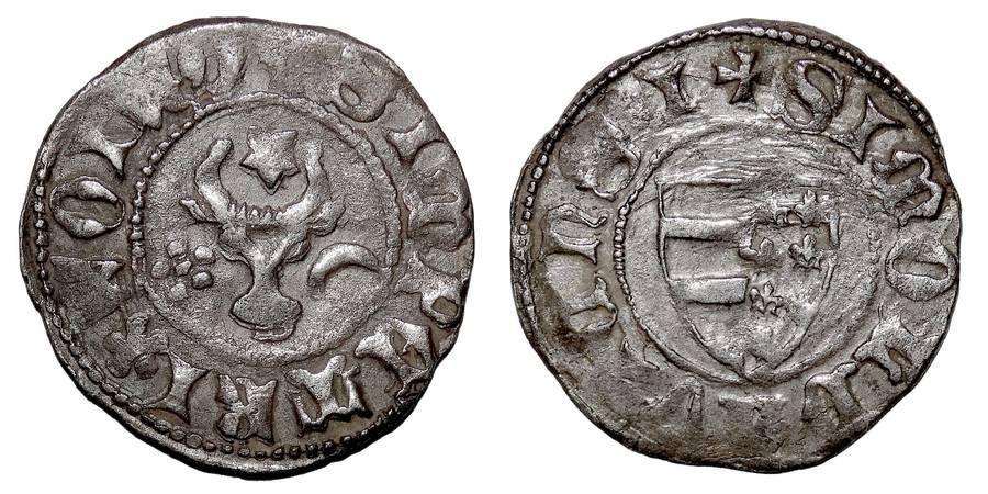 MOLDAVIA (PRINCIPALITY)~AR Groschen 1375-1391 AD
