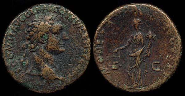 Domitian - Moneta As