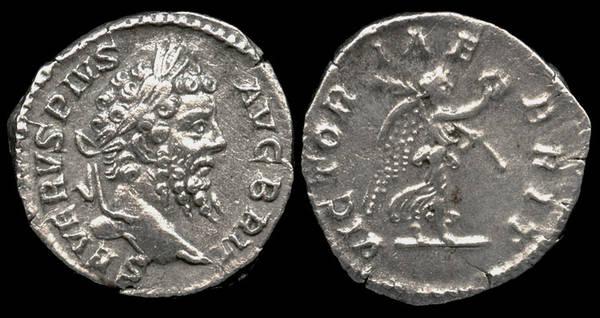 SEPTIMIUS SEVERUS - VICTORIAE BRIT