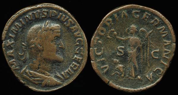 Maximinus Thrax Germania Vict.