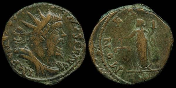 Postumus, Moneta - Dupondius