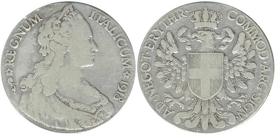 Eritrea 1918 1 Tallero