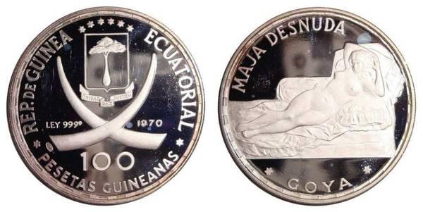 EQUATORIAL GUINEA~100 Pesetas 1970