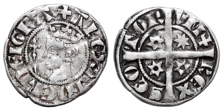 SCOTLAND~AR Penny 1249-1286 AD