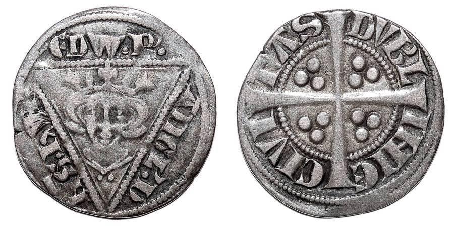IRELAND~AR Penny 1281-1282 AD