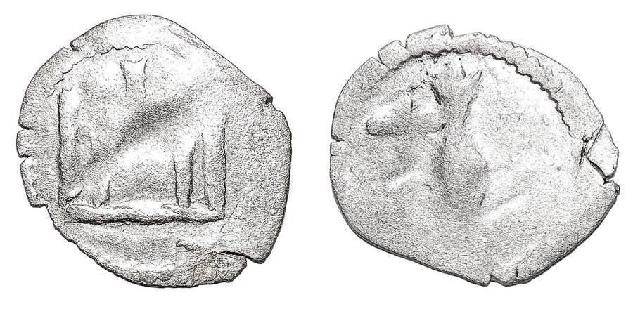 LITHUANIA (GRAND DUCHY)~AR Denar 1392-1430 AD