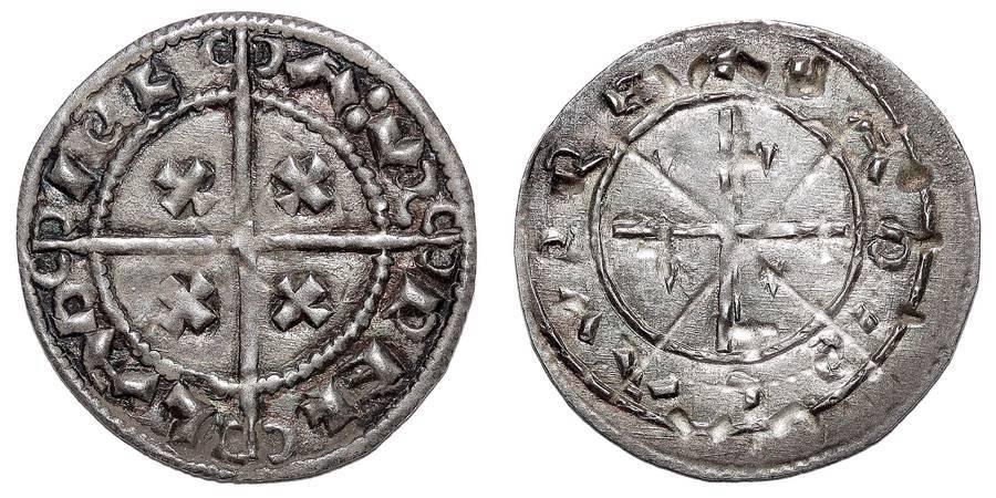 HUNGARY (KINGDOM)~AR Denar 1077-1095 AD