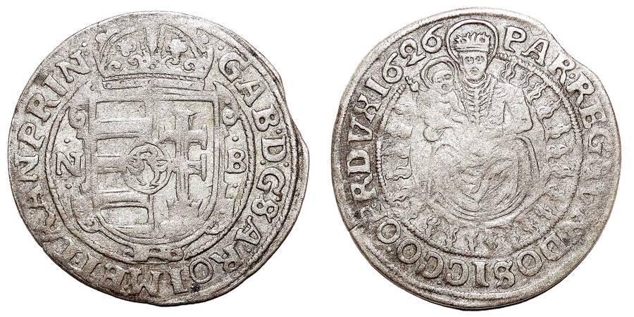 TRANSYLVANIA (PRINCIPALITY)~AR Breitgroschen 1626